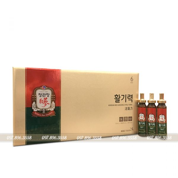 Nước hồng sâm KGC Cheong Kwan Jang Vital hộp 10 ống